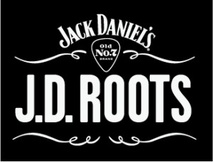 Bands announce inspirations for JD Roots gig JD ROOTS LOGO v2 REV1 300x228