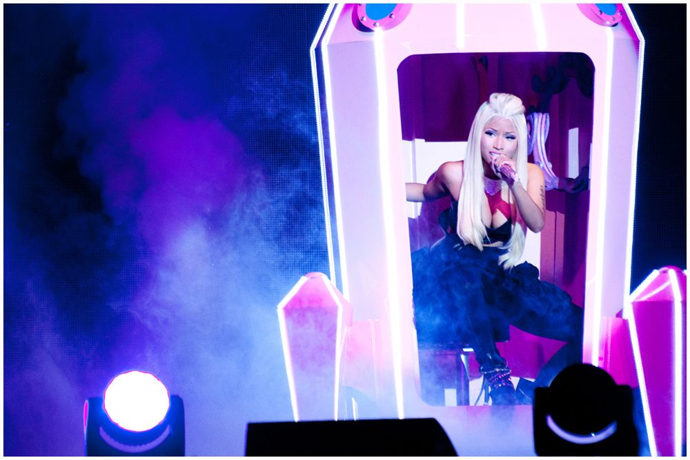 Nicki minaj the o2 arena london 2015