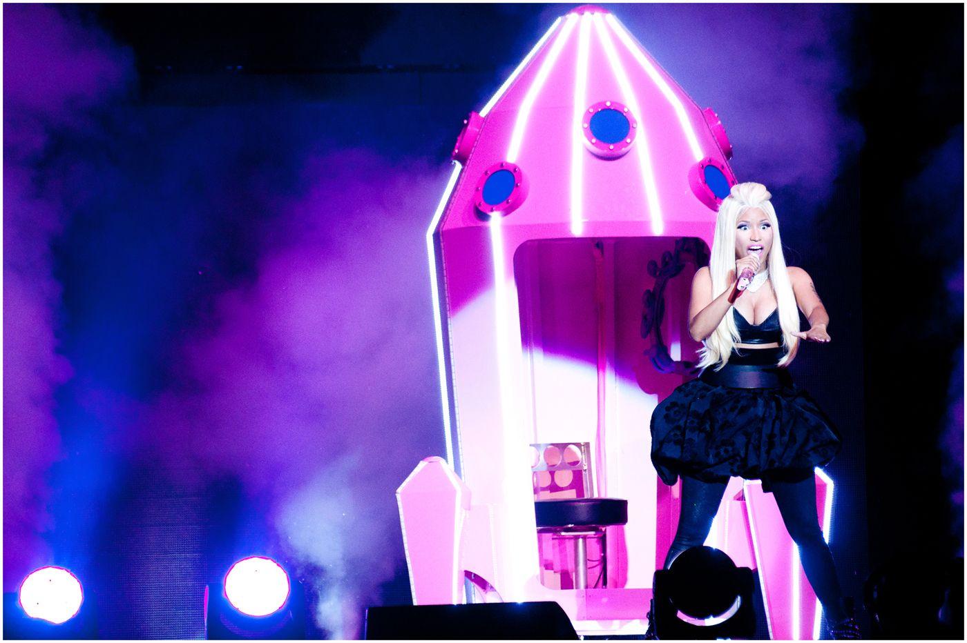 Nicki minaj the o2 arena london 2015