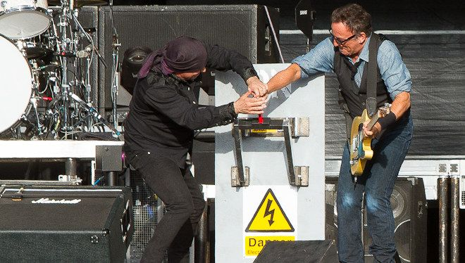 Bruce Springsteen at The RDS Dublin