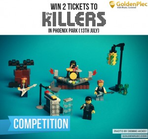 The Killers at Phoenix Park Competition Ticket Giveaway