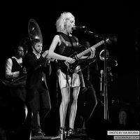 David Byrne and St Vincent at Electric Picnic by Yan Bourke on 010913_16