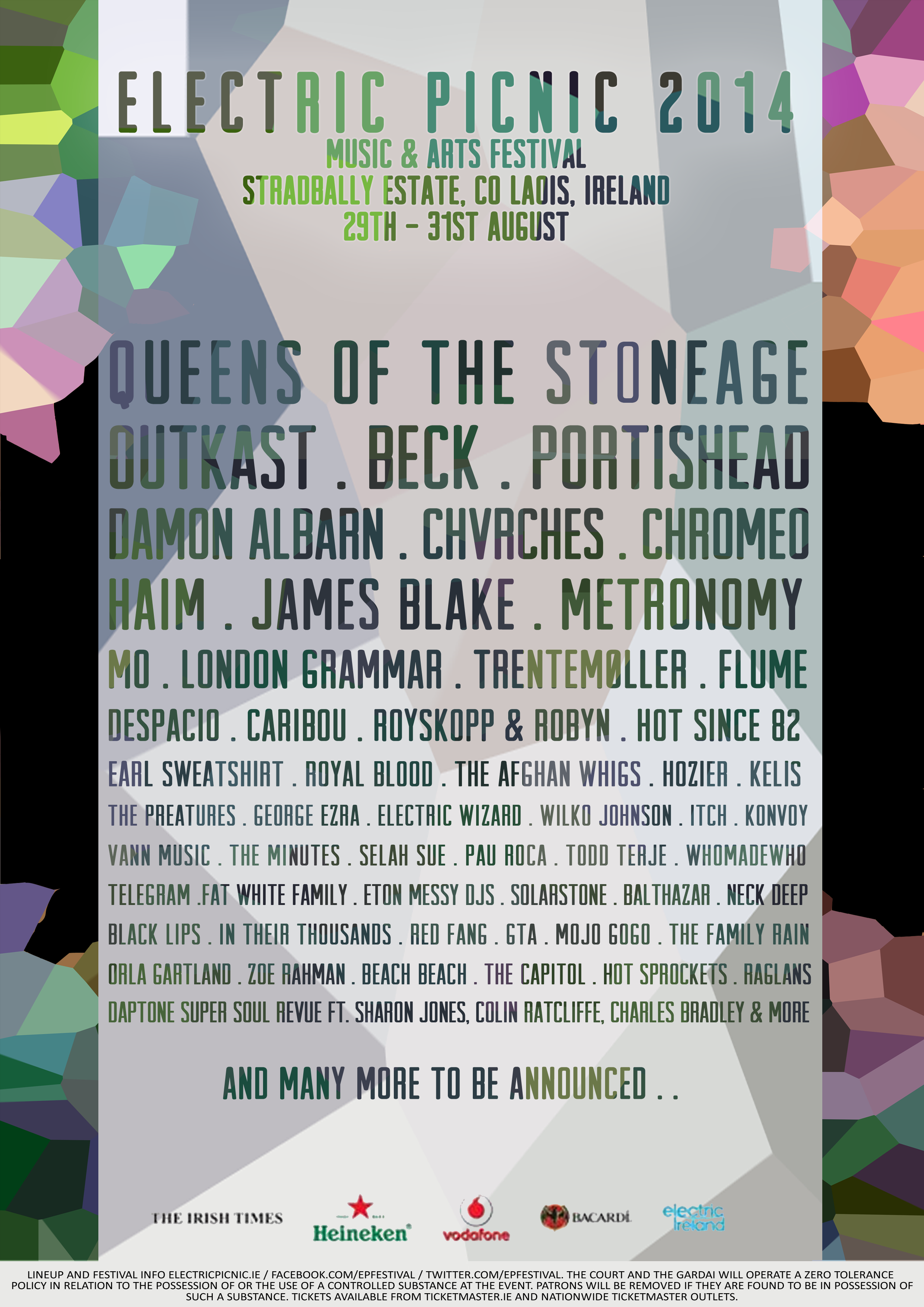 Electric Picnic 2016 First Line-Up Announced: LCD Soundsystem ...