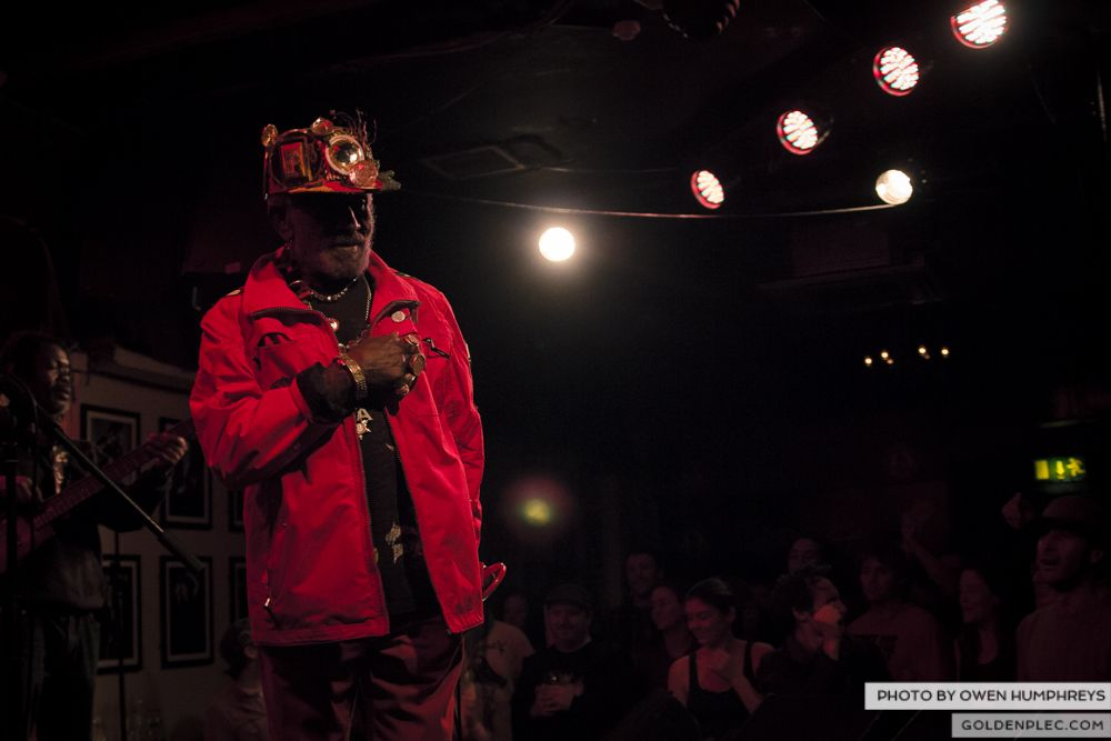 Lee Scratch Perry @ Roisin Dubh by Owen Humphrys