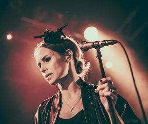 Nina Persson at the Button Factory by Alessio Michelini