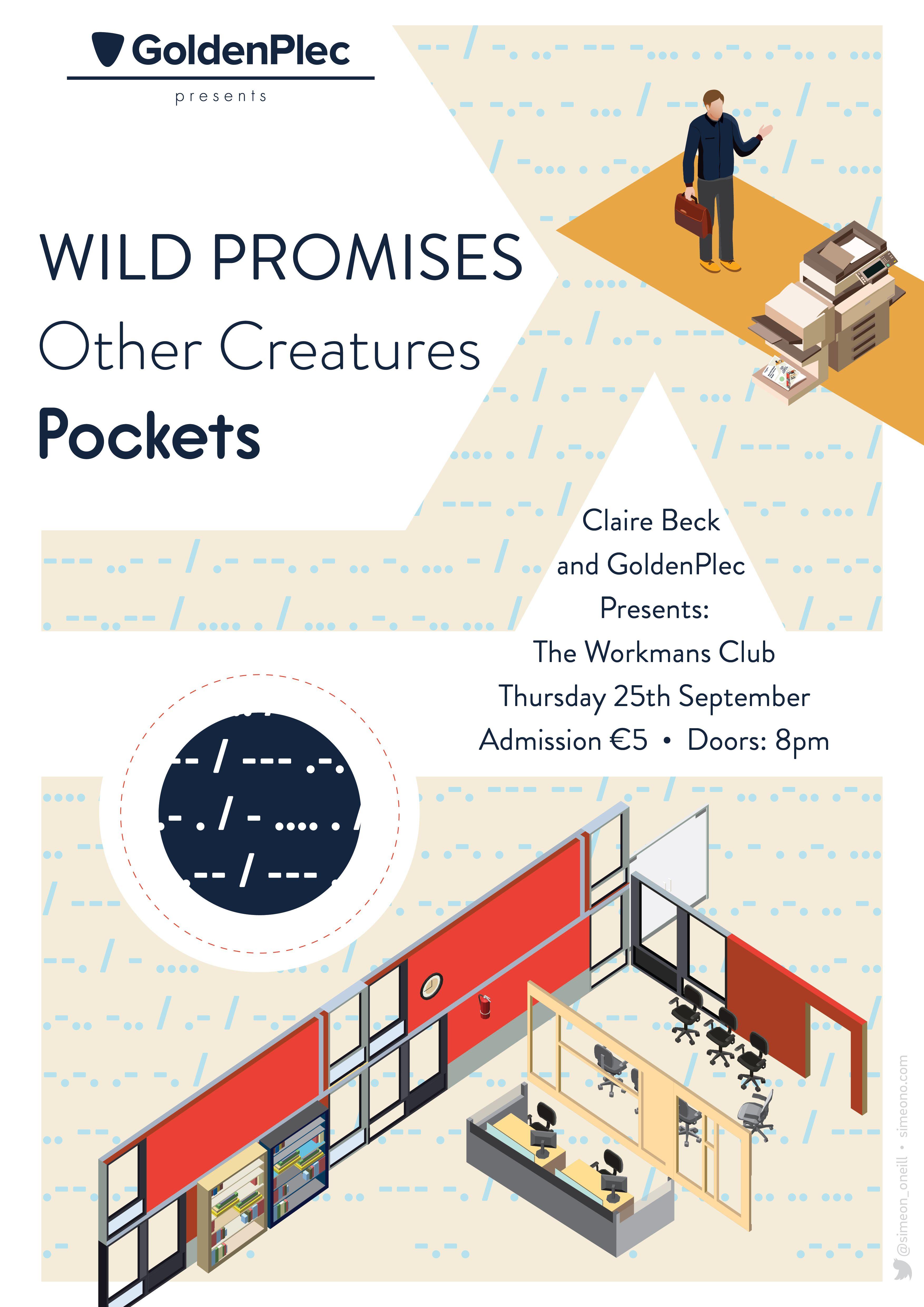 #GoldenBeck - September  - Wild Promises, Other Creatures, Pockets