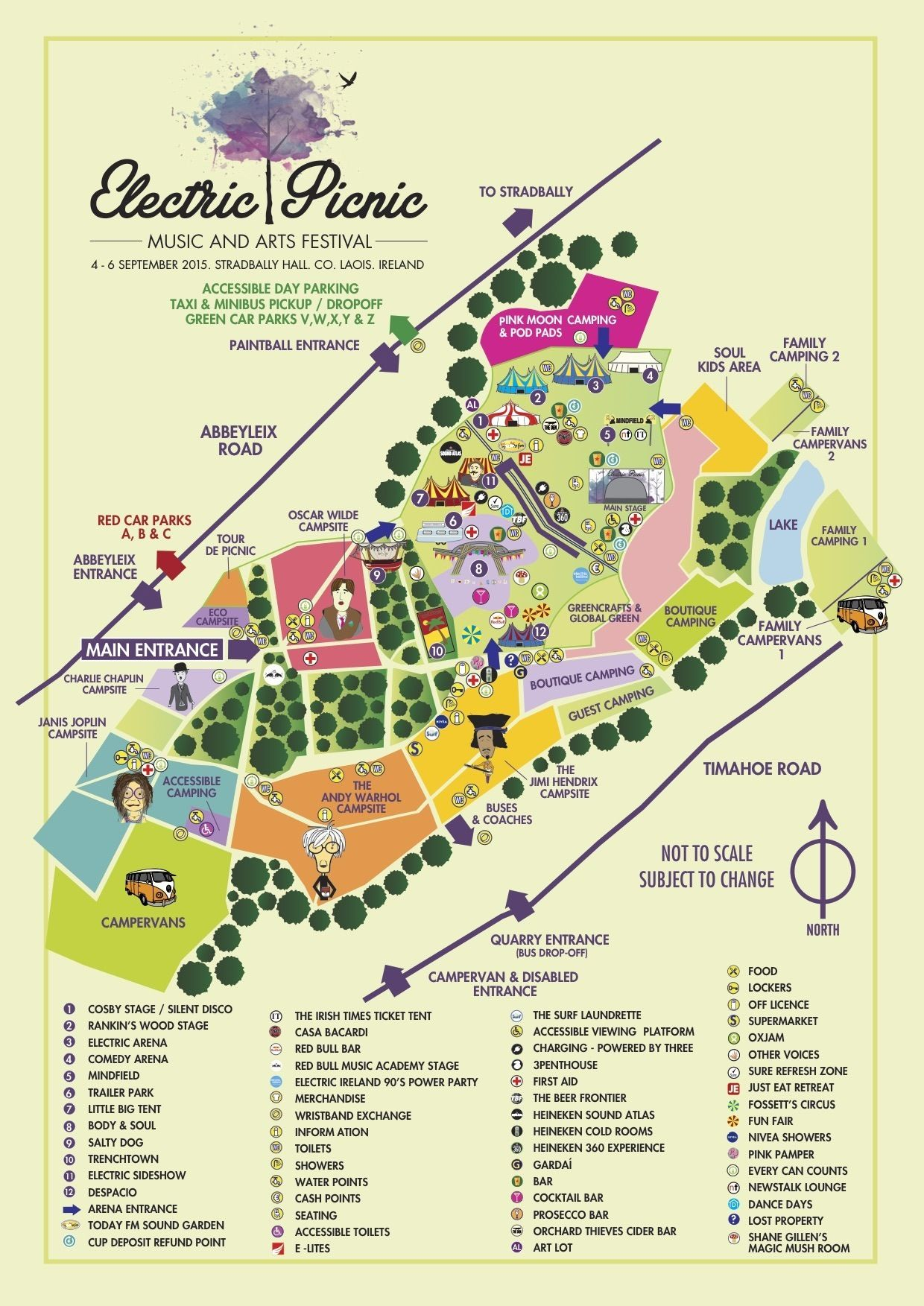 Electric Picnic 2014: stage times - Independent.ie