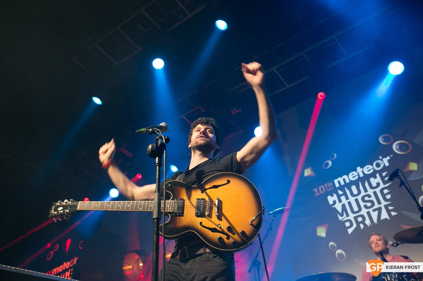 Delorentos at Meteor Choice Music Prize 2015 by Kieran Frost