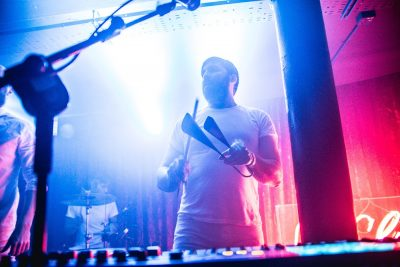 Le Galaxie live at Hard Working Class Heroes 2015, photo by Owen Humphreys