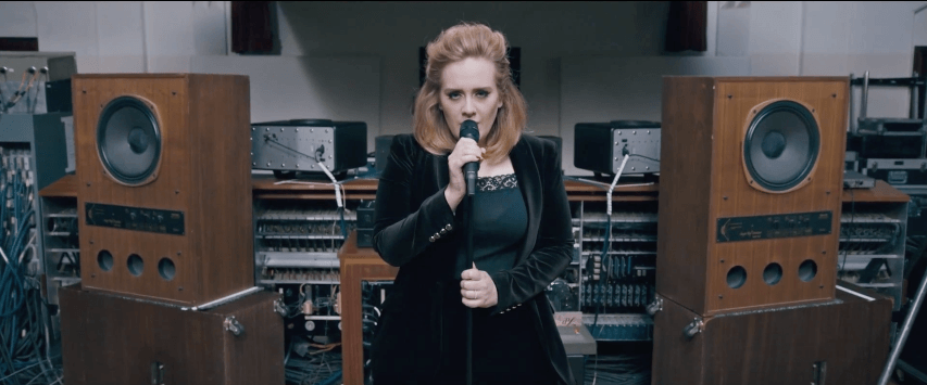 Adele - Still from When We Were Young