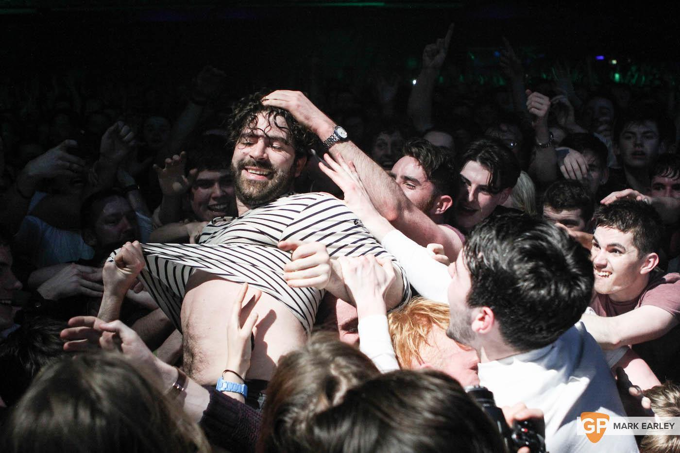 Foals at 3Arena by Mark Earley for GoldenPlec on February 10th, 2016.