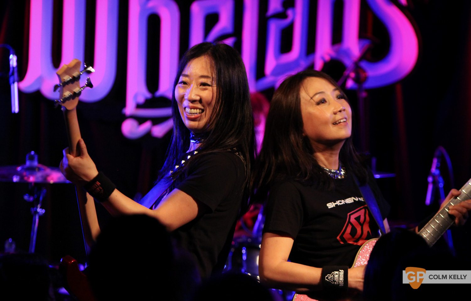 Shonen Knife at Wheans by Colm Kelly