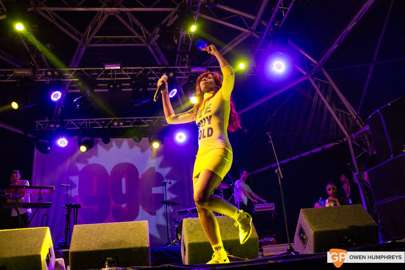 Santigold at Body&Soul by Owen Humphreys