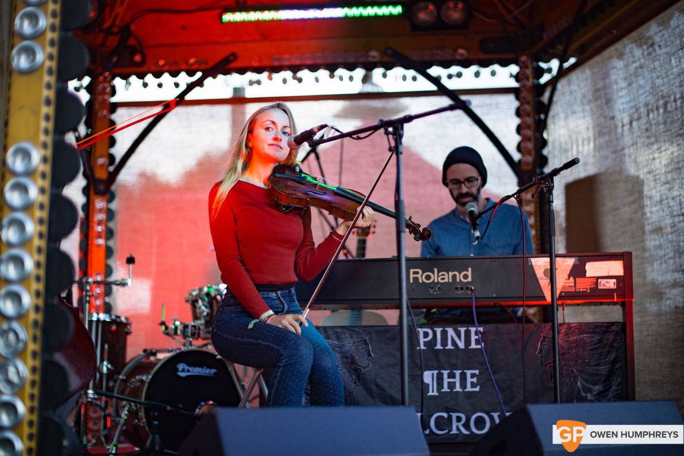 Pine The Pilcrow at Electric Picnic by Owen Humphreys