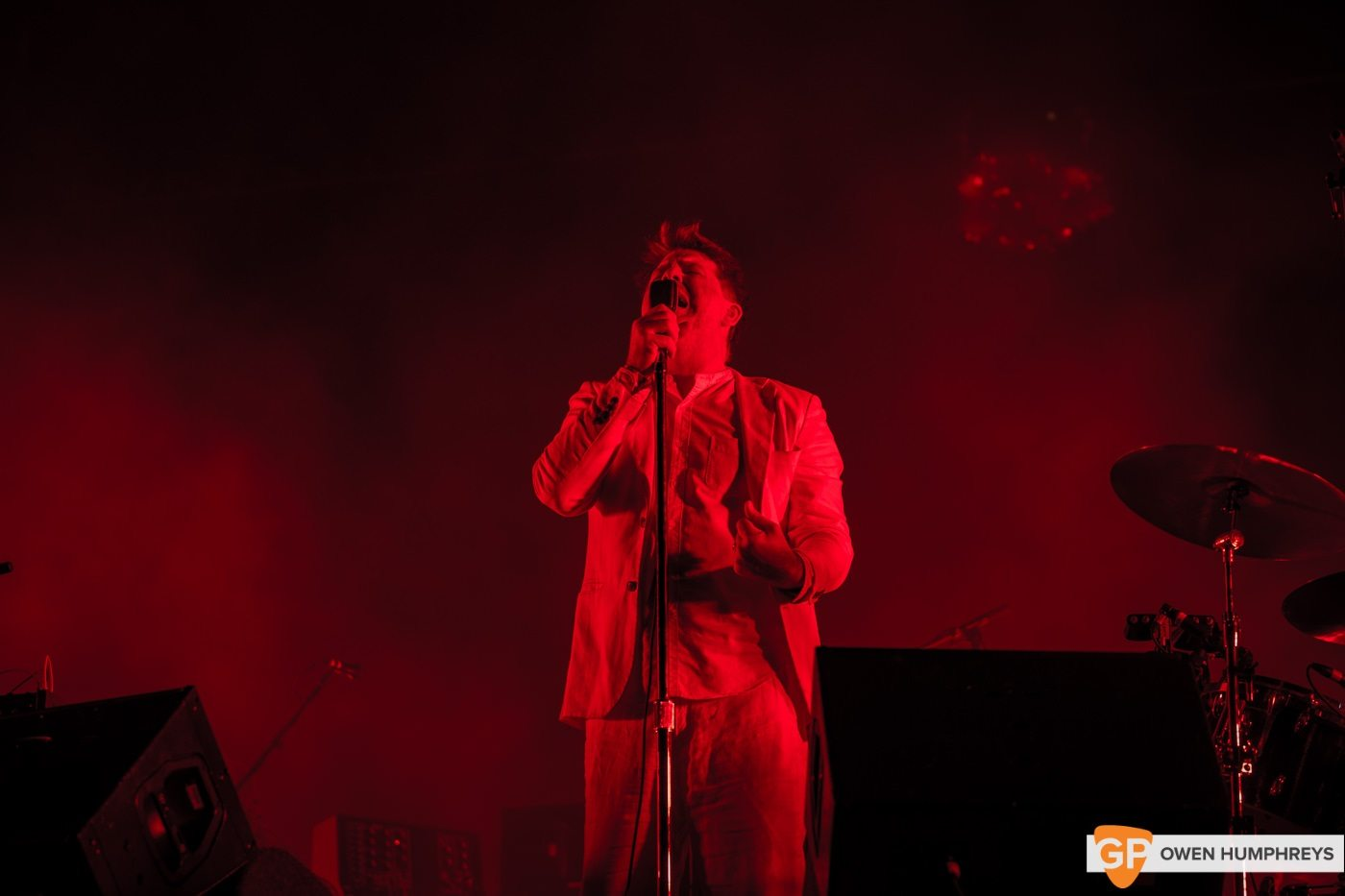 LCD Soundsystem at Electric Picnic by Owen Humphreys