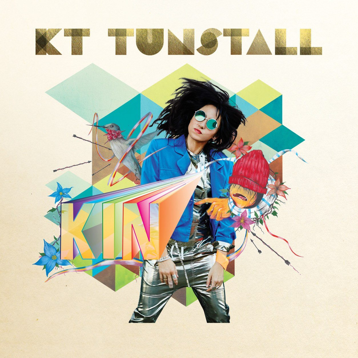 "This cover image released by Caroline Records shows ""KIN,"" a release by KT Tunstall. (Caroline Records via AP)"