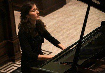 Nathalia Milstein at St Ann's 11oct16 / photograph Frances Marshall