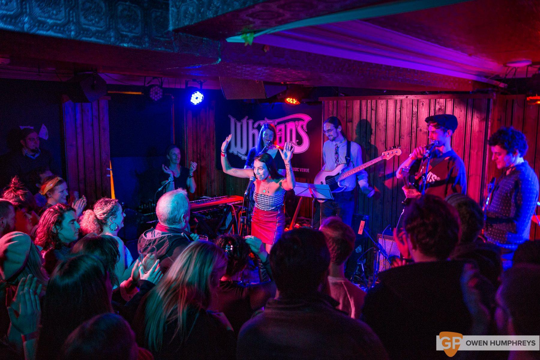 Melina Malone – GoldenPlec's JAMboree at Whelan's. Photo by Owen Humphreys (25 of 28)