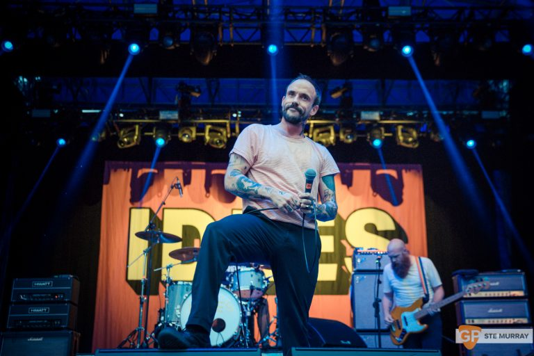 Photo of IDLES at The Iveagh Gardens
