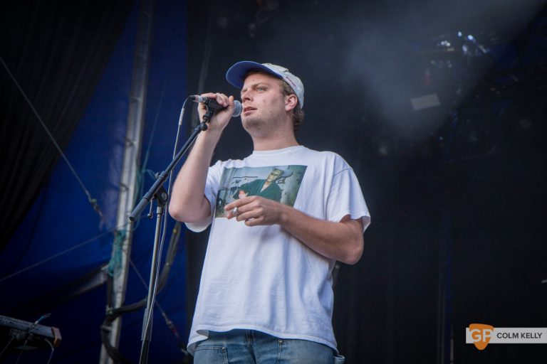 Photo of Mac DeMarco at Iveagh Gardens
