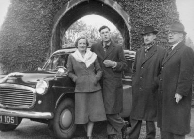 Olive Smith and members of the New London String Quartet at Cong, Co. Mayo, 1954